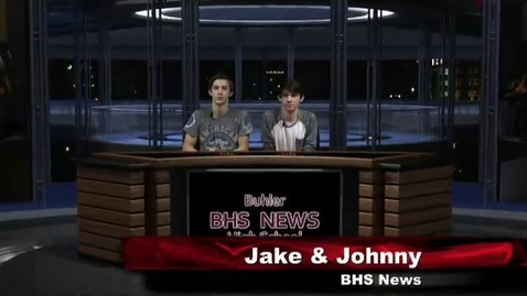 Thumbnail for entry BHS News October 20th