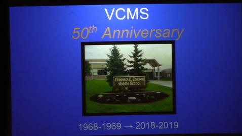 Thumbnail for entry VCMS 50th Anniversary Celebration 9-17-2018