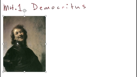 Thumbnail for entry Clip of M4.1 Democritus