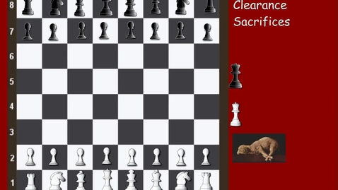 Thumbnail for entry Tricky Tactics 23 Clearance Sacrifices