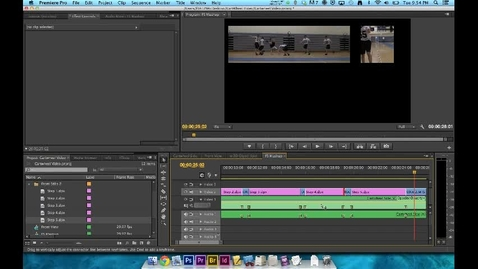Thumbnail for entry How To Video - Premiere Editing - Step 7