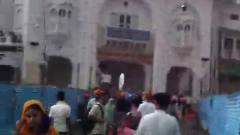 Thumbnail for entry The Sikh Golden Temple