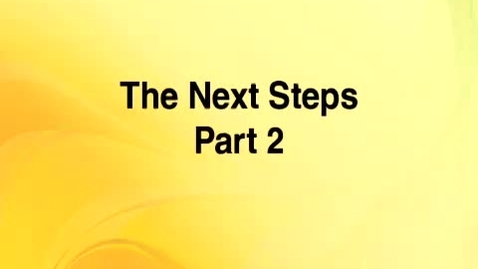 Thumbnail for entry Cultural Competence 8 -- The Next Steps: Part 2