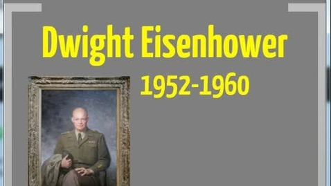 Thumbnail for entry Eisenhower Part 1
