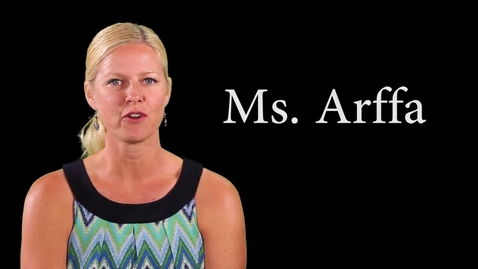 Thumbnail for entry 8-19-16 Ms. Arffa talks about attendance works