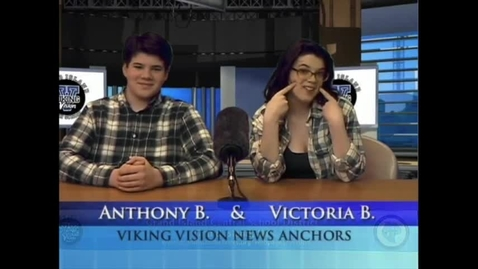 Thumbnail for entry Viking Vision News Thur 3-29-2018 #511