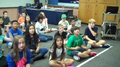 Thumbnail for entry 5th Grade body percussion warmup
