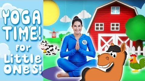 Thumbnail for entry Yoga Time! | On the Farm - Kids Yoga and Nursery Rhymes