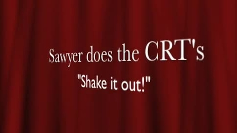 """Thumbnail for entry Sawyer CRT """"Shake Out!"""" Extended Version"""
