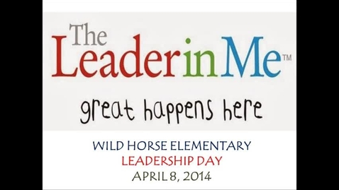 Thumbnail for entry WH Leadership Day 2014