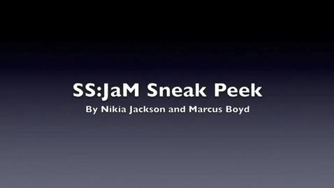 Thumbnail for entry Ss:JaM