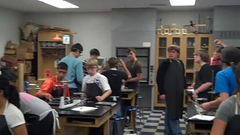 Thumbnail for entry 8th Grade - Calibrating A Blank Thermometer