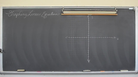 Thumbnail for entry Graphing Lines Using Slope-Intercept Form