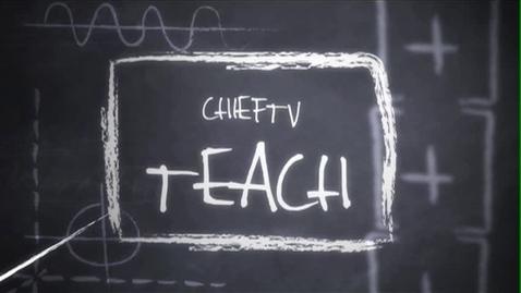 Thumbnail for entry Teach - Run Long Distances - ChiefTV