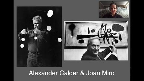 Thumbnail for entry Calder/Miro Final Video 1 Joan Miro