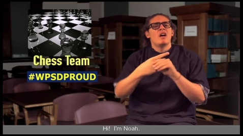 Thumbnail for entry WPSD Chess Team