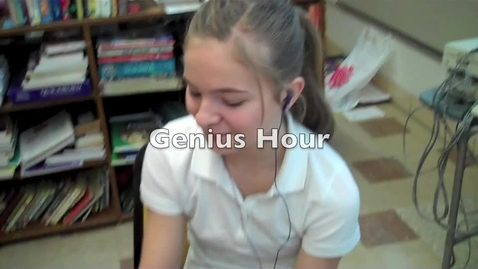 Thumbnail for entry Genius Hour