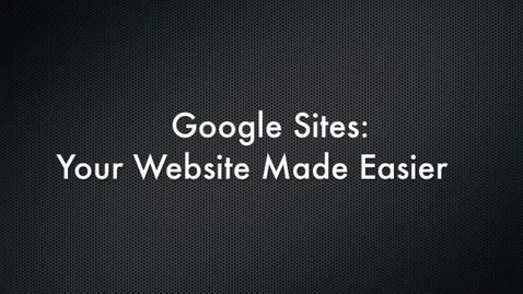 Thumbnail for entry Google Sites Commercial