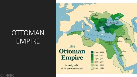 Thumbnail for entry Ottoman Empire