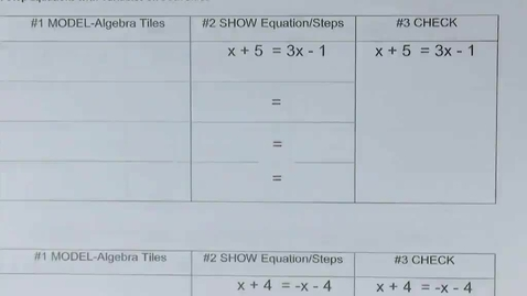 Thumbnail for entry 7.1 Solving Multi-Step Equations with Variables on Both Sides of the Equal Sign (Full Lesson)