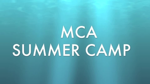 Thumbnail for entry camp week 4 afternoon