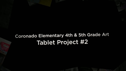 Thumbnail for entry Coronado Elementary Tablet Project Week 2
