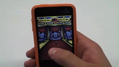 Thumbnail for entry iPod App. Skee Ball