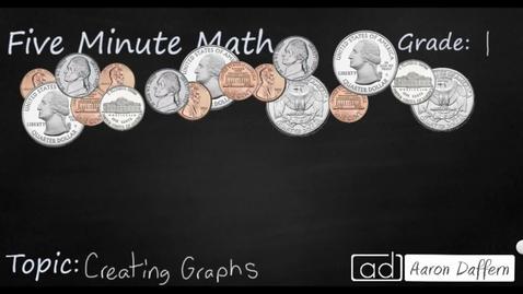 Thumbnail for entry 1st Grade Math Creating Graphs