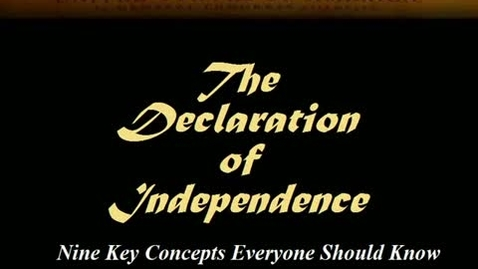 Thumbnail for entry Understanding the Declaration