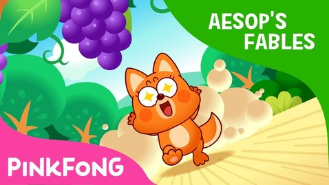 Thumbnail for entry The Fox and the Grapes | Aesop's Fables | Pinkfong Story Time for Children