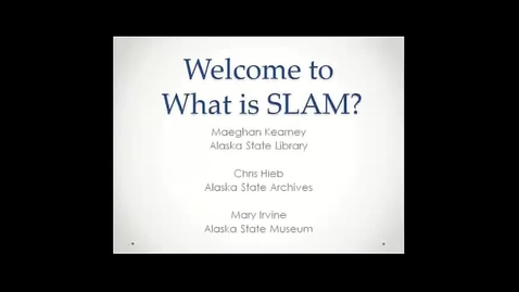 Thumbnail for entry OWL Videoconference: What is SLAM?