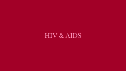 Thumbnail for entry HIV-AIDS