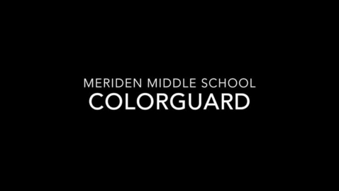 Thumbnail for entry Junior Colorguard