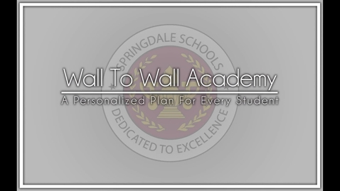 Thumbnail for entry Academies at Springdale High School
