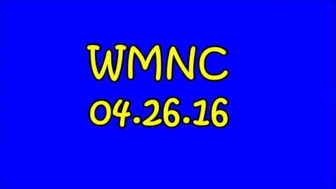 Thumbnail for entry WMNC 04.26.16