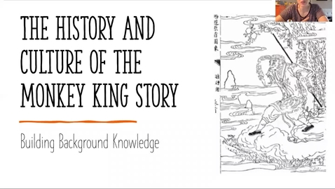 Thumbnail for entry Monkey King History and Culture lesson