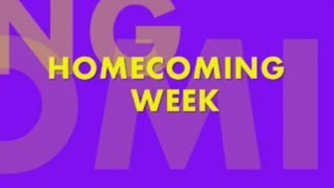 Thumbnail for entry Homecoming Week Part 2