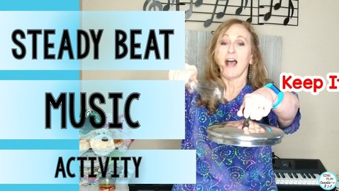 Thumbnail for entry Steady Beat Activities At Home 🎵Kids Music Lesson🎵Preschool Music Activity🎵Sing Play Create
