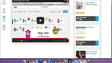 Thumbnail for entry Class Dojo Set Up and Tutorial