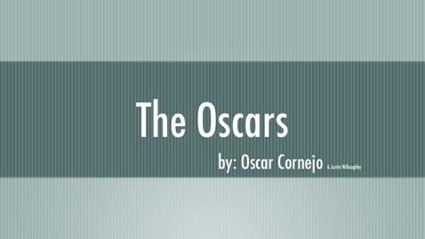 Thumbnail for entry Oscar