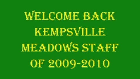 Thumbnail for entry Kempsville Meadows Sharepoint video
