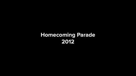 Thumbnail for entry Mighty Pup Homecoming Parade 2012