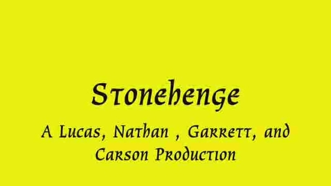 Thumbnail for entry Stonehenge