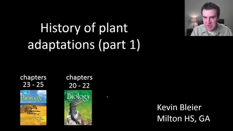 Thumbnail for entry Plant evolutionary history (part 1 of 2)