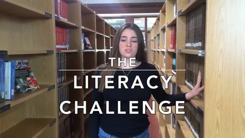 Thumbnail for entry The Literacy Challenge PSA: Group 7