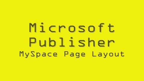 Thumbnail for entry MyPage Layout