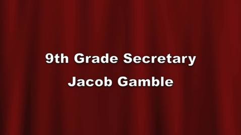 Thumbnail for entry 9th Sec Jacob