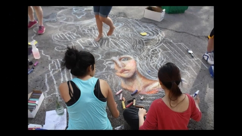 Thumbnail for entry USAO Chalk Art Contest Spring 2014