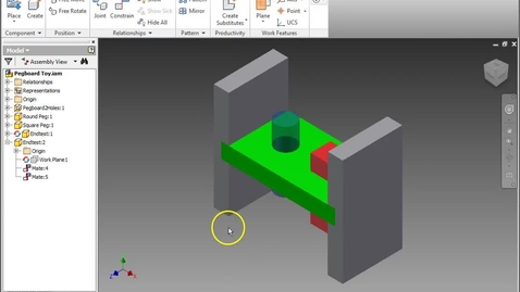 Thumbnail for entry Modifying Pegboard for Triangle (Inventor)