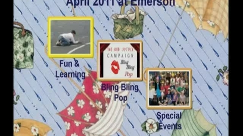 Thumbnail for entry April 2011 at Ralph Waldo Emerson Elementary School